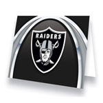 Hunter Manufacturing Oakland Raiders Greeting Card