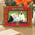 Ottawa Senators Horizontal Art Glass Picture Frame by The Memory Company