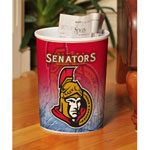 The Memory Company Ottawa Senators Plastic Garbage Can