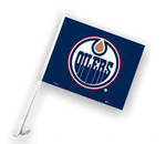 Fremont Die Edmonton Oilers Double Sided Car Flag