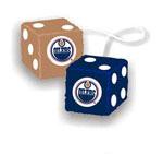 Fremont Die Edmonton Oilers Fuzzy Dice