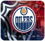 Hunter Manufacturing Edmonton Oilers Mouse Pad
