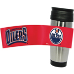 Hunter Manufacturing Edmonton Oilers 15oz. Stainless Steel Travel Tumbler