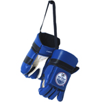 Kloz Edmonton Oilers Mini Hockey Gloves