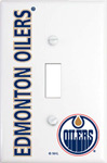 IAX Sports Edmonton Oilers Single Light Switch Cover
