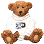 Elby Gifts Philadelphia Flyers Power Play Teddy Bear Figurine