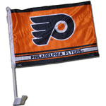 Future Product Sales Philadelphia Flyers Double Sided Car Flag