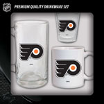 Hunter Manufacturing Philadelphia Flyers Drinkware Fan Pack - Set of 3