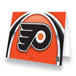Hunter Manufacturing Philadelphia Flyers Greeting Card