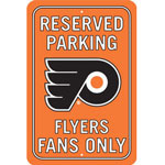 Fremont Die Philadelphia Flyers Plastic Reserved Parking Sign