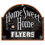 Wincraft Philadelphia Flyers Home Sweet Home Wood Sign