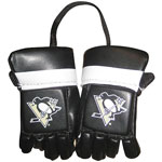 Kloz Pittsburgh Penguins Mini Hockey Gloves