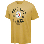 VF Imagewear Pittsburgh Steelers Vintage Stadium Wear III Pigment Dye T-Shirt