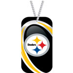 Hunter Manufacturing Pittsburgh Steelers Dog Tag Necklace