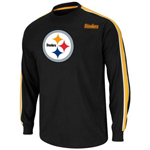 VF Imagewear Pittsburgh Steelers End of the Line V Long Sleeve T-Shirt