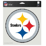 Wincraft Pittsburgh Steelers 8''x8'' Color Die Cut Decal
