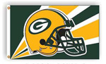Fremont Die Green Bay Packers 3'x5' Flag