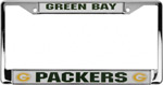 Rico Industries Green Bay Packers Metal License Plate Frame