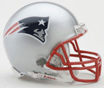 Riddell New England Patriots Mini Replica Football Helmet