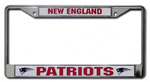 Rico Industries New England Patriots Metal License Plate Frame