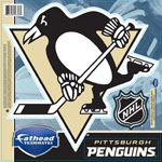 Pittsburgh Penguins Fathead Teammate Peel-N-Stick Wall Decals