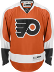 Reebok Philadelphia Flyers Youth Premier Replica Home NHL Hockey Jersey