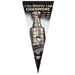 Wincraft Pittsburgh Penguins Stanley Cup Champions Premium Felt Pennant