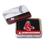 Boston Red Sox Embroidered Billfold Leather Wallet by Rico