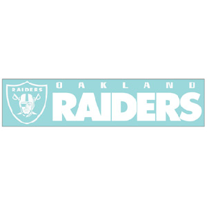 TheSportsDen.ca: Wincraft Oakland Raiders 4''x17'' Die Cut Decal ...
