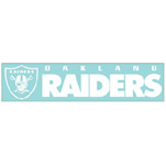 Wincraft Oakland Raiders 4''x17'' Die Cut Decal