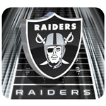 Hunter Manufacturing Oakland Raiders Mouse Pad