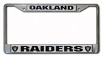 Rico Industries Oakland Raiders Metal License Plate Frame