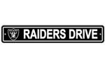 Fremont Die Oakland Raiders Plastic Street Sign