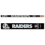 Wincraft Oakland Raiders 6 Pack Pencils