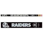 Wincraft Oakland Raiders 6 Pack Pencils