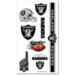Wincraft Oakland Raiders Temporary Tattoos