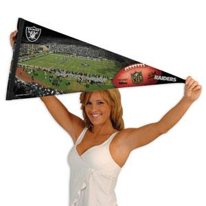 Wincraft Oakland Raiders Premium Felt Stadium Pennant