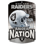 Wincraft Oakland Raiders Wood Sign