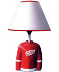Detroit Red Wings Jersey Lamp by IAX Sports