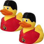 Ottawa Senators 2-Pack Rubber Duck by JF Sports
