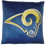 Dan River St. Louis Rams 16''x16'' Square Plush Pillow