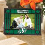 The Memory Company Saskatchewan Roughriders Horizontal Art Glass Frame