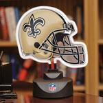 New Orleans Saints Neon Helmet Lamp