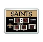 New Orleans Saints Large Scoreboard Clock