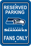 Fremont Die Seattle Seahawks Plastic Reserved Parking Sign