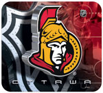 Hunter Manufacturing Ottawa Senators Mouse Pad