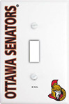 IAX Sports Ottawa Senators Single Light Switch Cover