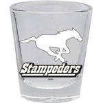 Hunter Calgary Stampeders 2oz. Shot Glass