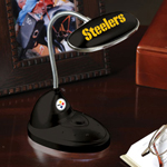 The Memory Company Pittsburgh Steelers LED Desk Lamp
