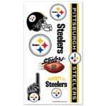 Wincraft Pittsburgh Steelers Temporary Tattoos